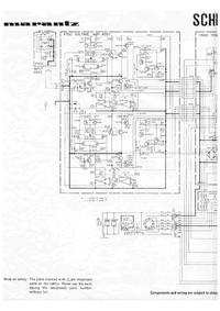 Schaltplan Marantz SM-6