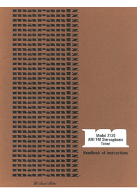 Instrukcja obsługi Marantz 2130