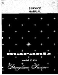 Serviceanleitung Marantz 2235B