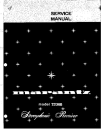 Service Manual Marantz 2238B