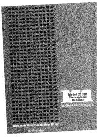 User Manual Marantz 2250B