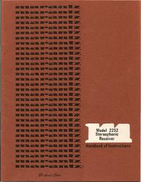 Manual del usuario Marantz 2252