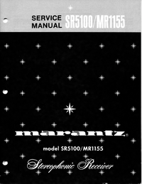 Manual de servicio Marantz MR1155