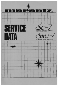 Service Manual Marantz SC-7