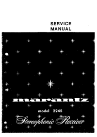 Manual de servicio Marantz 2245