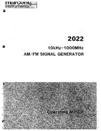 Manuale d'uso Marconi 2022