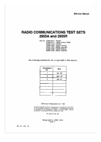 Service Manual Marconi 2955R