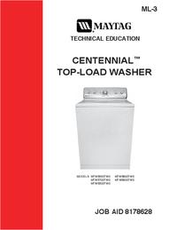 Servicehandboek Maytag MTW5800TW0