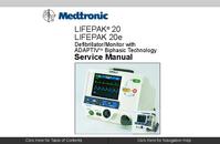 Руководство по техническому обслуживанию Medtronic Lifepak 20e
