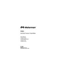 Manuel de l'utilisateur Meterman PM55