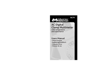 User Manual Meterman AC75