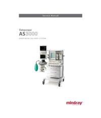 Service Manual Mindray AS3000