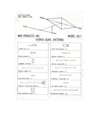 Servicio y Manual del usuario Miniproducts HQ-1