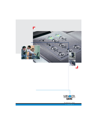 Руководство по техническому обслуживанию MinoltaQMS Magicolor 2200 Series