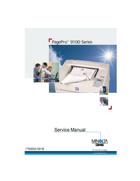Manual de servicio MinoltaQMS PagePro 9100 Series