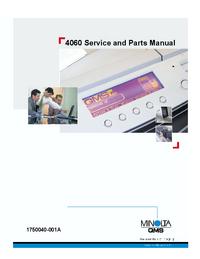 Manual de serviço MinoltaQMS 4060