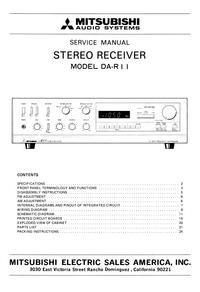 Manual de servicio Mitsubishi DA-R11
