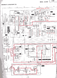 Diagrama cirquit Mitsubishi DA-R45P