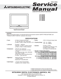 Mitsubishi-1325-Manual-Page-1-Picture