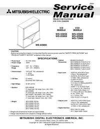 Service Manual Mitsubishi V19+