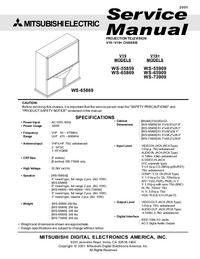 Manual de serviço Mitsubishi WS-65909