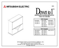 Service Manual Mitsubishi V20