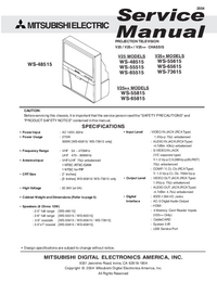 Service Manual Mitsubishi V25