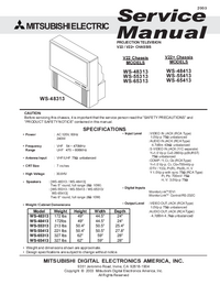 Service Manual Mitsubishi V22
