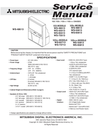 Service Manual Mitsubishi V23+++