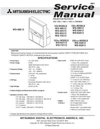 Servicehandboek Mitsubishi WS-65613