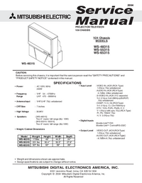 Service Manual Mitsubishi V24