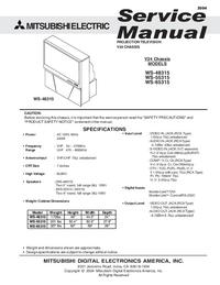 manuel de réparation Mitsubishi WS-48315
