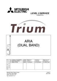 Serviceanleitung Mitsubishi Trium Aria