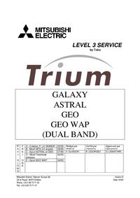 Manual de serviço Mitsubishi Trium Astral