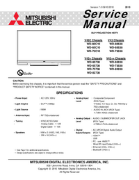 Service Manual Mitsubishi V43