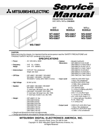 Instrukcja serwisowa Mitsubishi V17