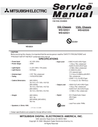 Service Manual Mitsubishi V32