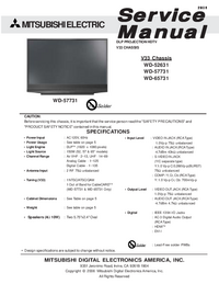 Service Manual Mitsubishi V33