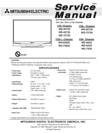 Service Manual Mitsubishi V39