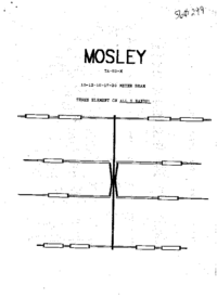 User Manual Mosley TA-53-X