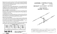 Mosley-8151-Manual-Page-1-Picture