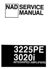 Instrukcja serwisowa NAD 3020i