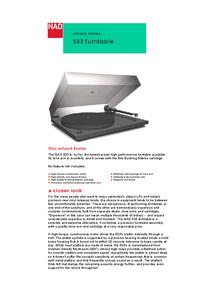 Manual del usuario NAD 533