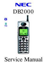 Manual de servicio NEC DB2000