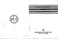 Manual del usuario NLS LM-3A