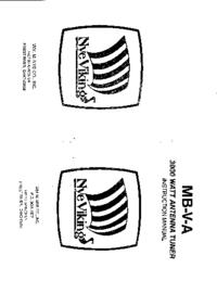 Manual del usuario NYE MB-V-A