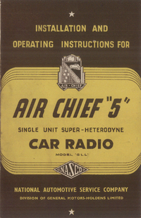 Manual del usuario Nasco Air Chief 5
