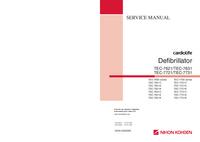 Manuale di servizio NihonKoden TEC-7631