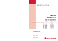 Manual de serviço NihonKoden TEC-7721