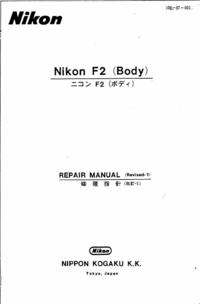 Servicehandboek Nikon F2